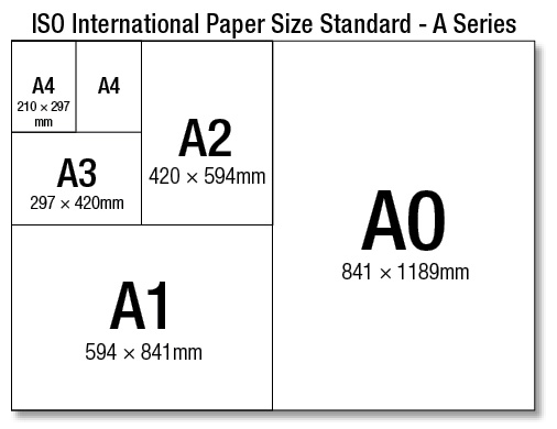 standard letter size paper size standard ad fusion solution 24964 | A4Series PaperSize